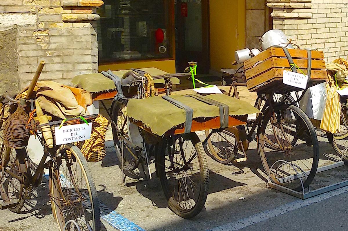 Le biciclette degli antichi mestieri